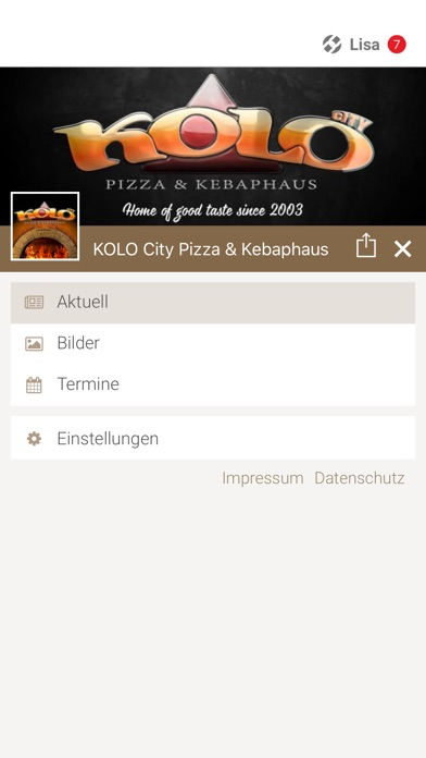 KOLO City Pizza & KebaphausScreenshot von 2