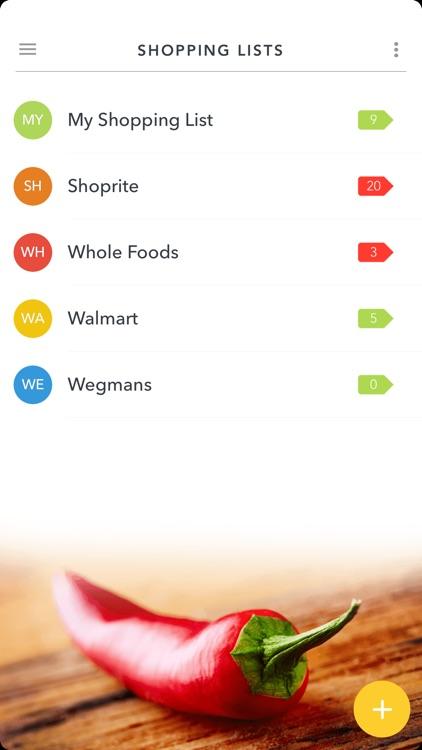 Grocery King - Shopping List screenshot-5
