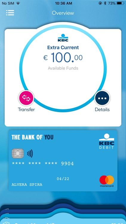 KBC Ireland Mobile Banking screenshot-5