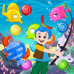Fishing Bubble Pop Games app