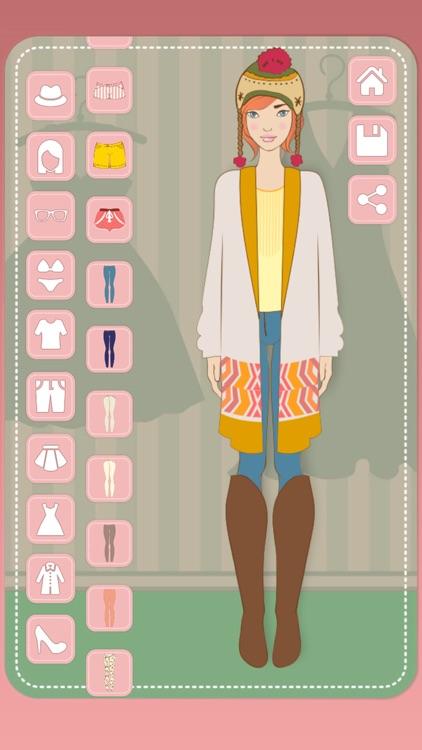 Dress up dolls & girls screenshot-3