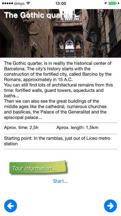 iguide Barcelona Travel Guide screenshot two