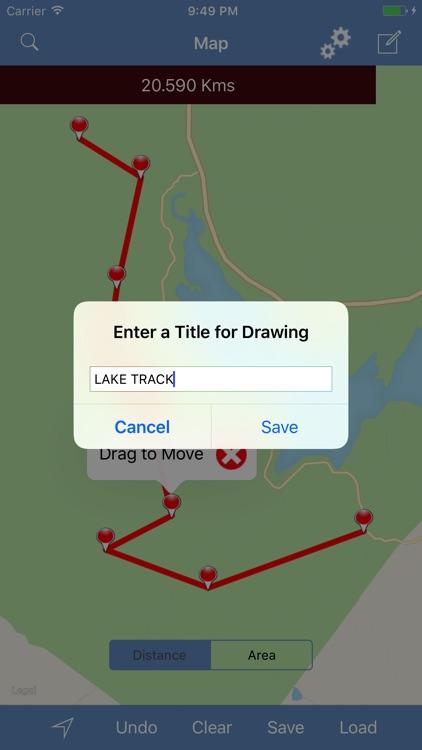 Measure Map - Distances & Areas screenshot-3