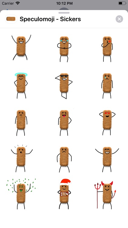 Speculomoji - Stickers