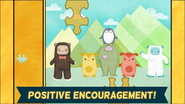 Monster Games for Kids: Jigsaw Puzzles HD screenshot-4