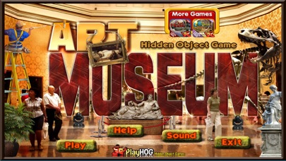 Art Museum Hidden Objects Game screenshot four