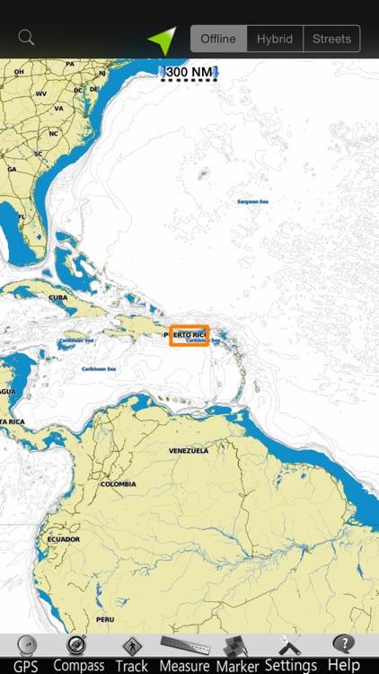 Puerto Rico Nautical Chart screenshot-4