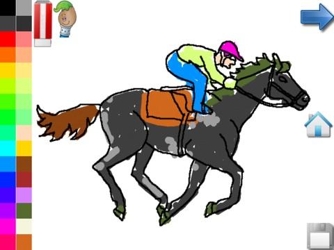 Kleurplaten Van Het Huis Anubis.Kleurplaten Van Paarden Pony App Voor Iphone Ipad En Ipod Touch