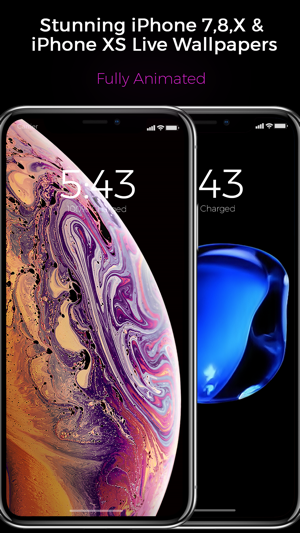 Black - Live Wallpapers on the App Store