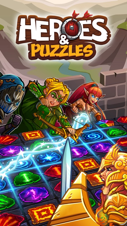 Heroes and Puzzles screenshot-0