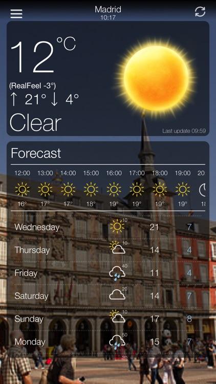 Weather App 10 Days Forecast screenshot-6