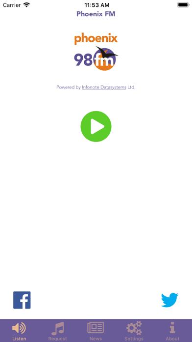 Phoenix 98FM screenshot one