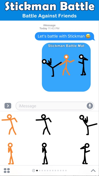 Animated Stick Man Battles screenshot 3