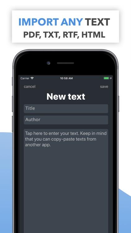Memy – Memorize texts, lyrics screenshot-4