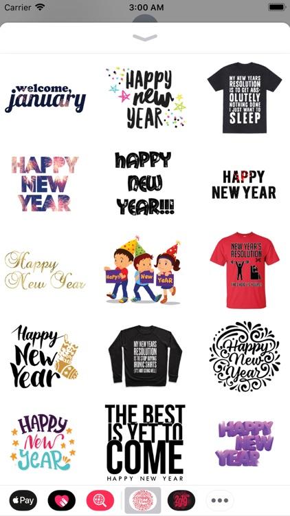 New Year Wishes Animated Pack screenshot-3