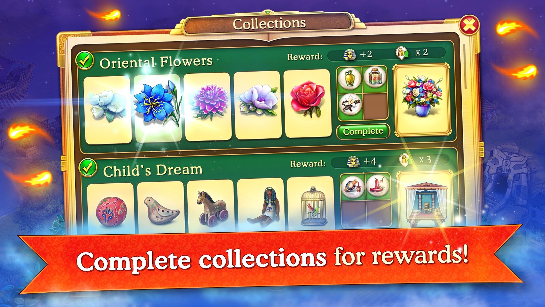 Cradle of Empires: Match3 Game Screenshot