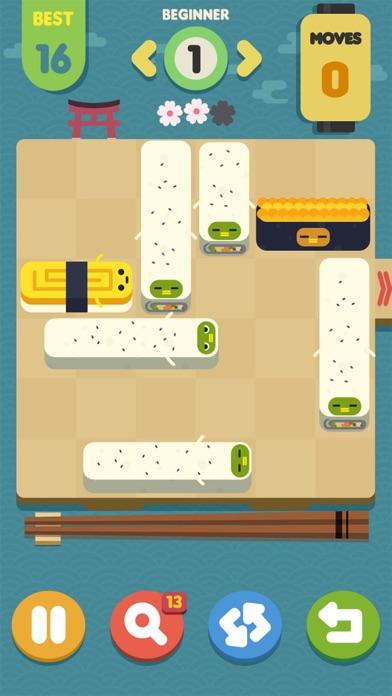 Screenshot 1 Push Sushi - puzzle&unblock
