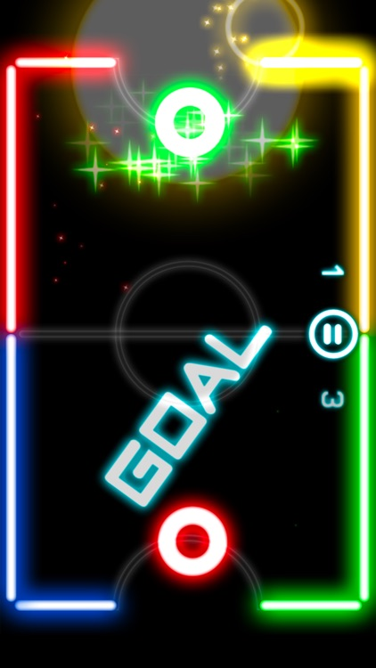 Glow Hockey 2L screenshot-2