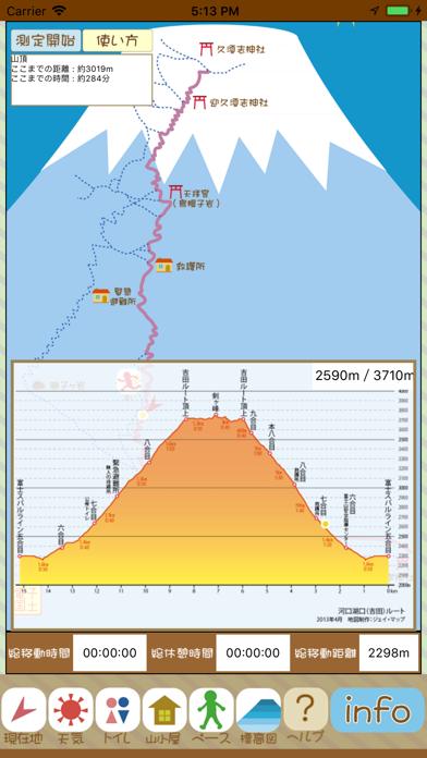 富士山登山おたすけアプリのおすすめ画像5