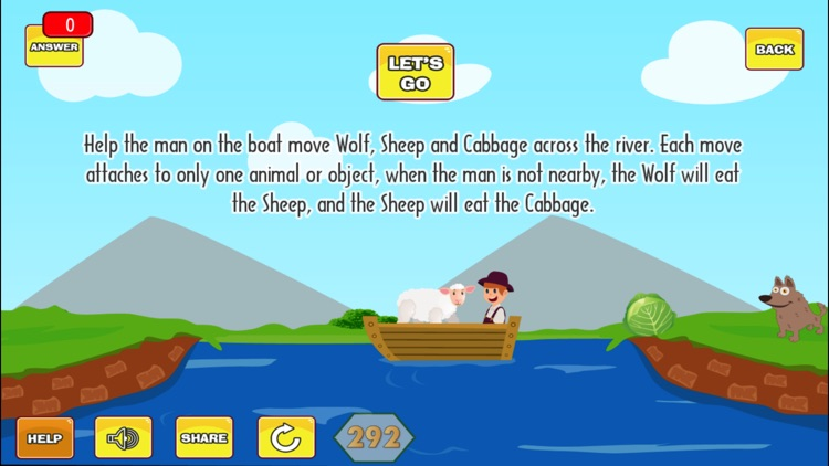 River Crossing Puzzle screenshot-3