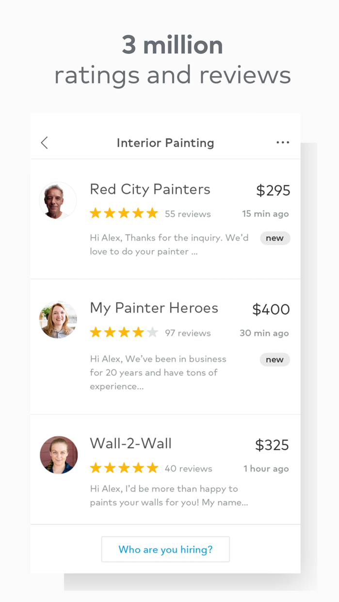 Thumbtack: Find Local Pros Screenshot
