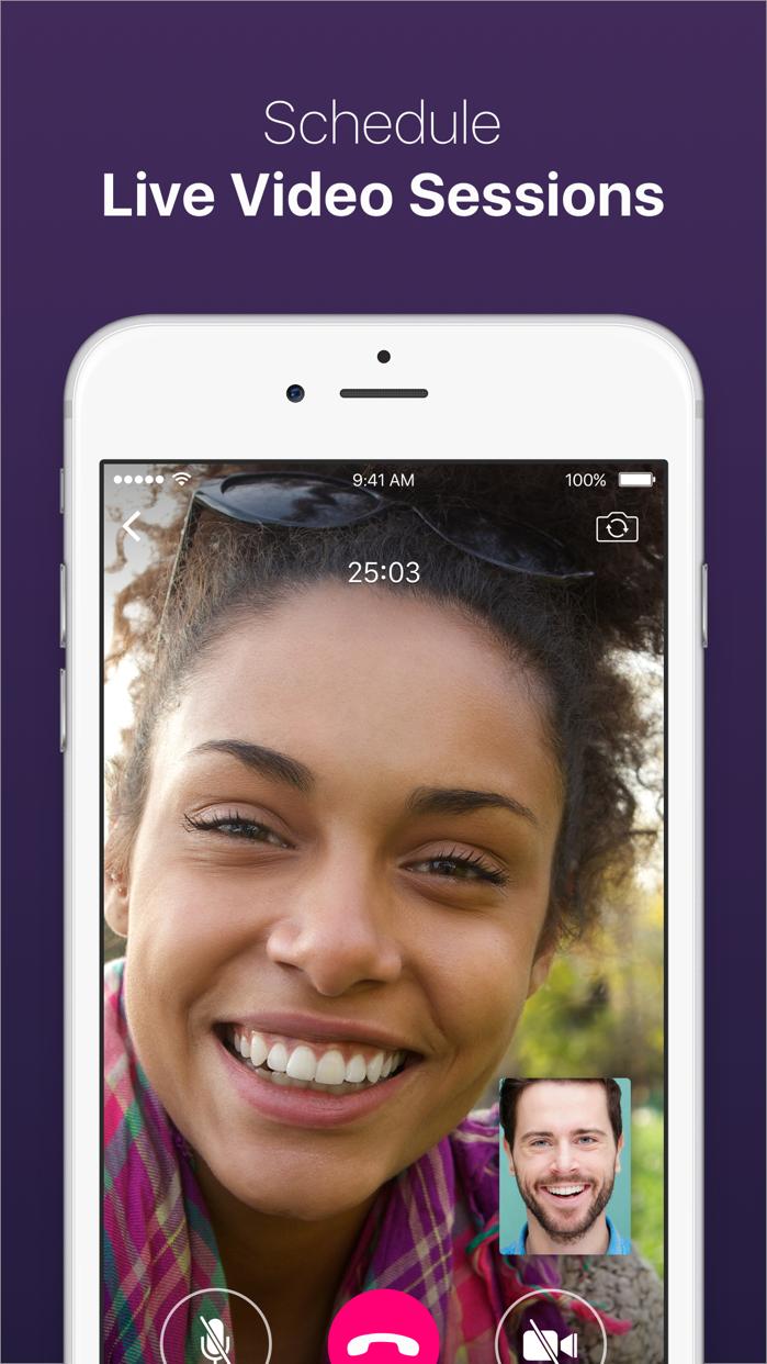 Talkspace Online Therapy Screenshot