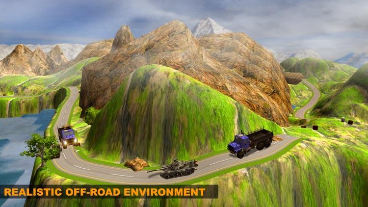 Army off-road truck screenshot-3