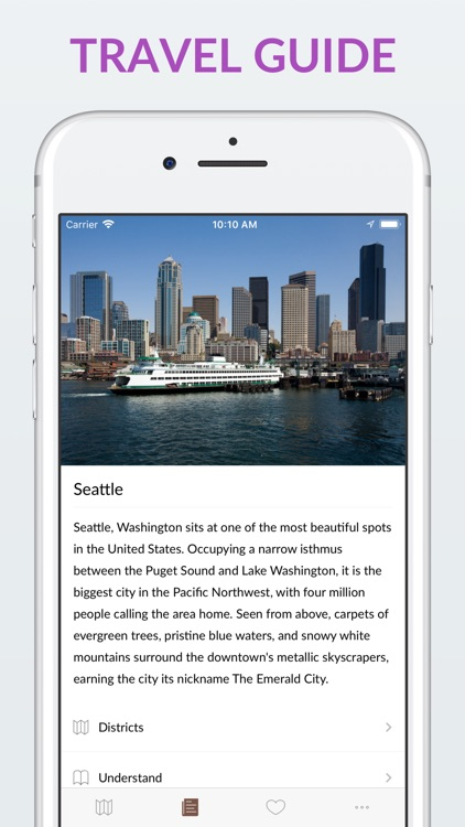 Seattle Offline Map & Guide