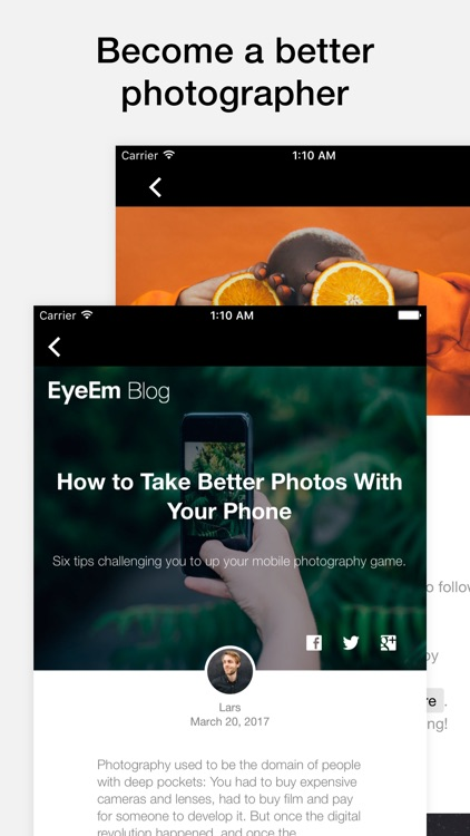 EyeEm - Photography screenshot-3