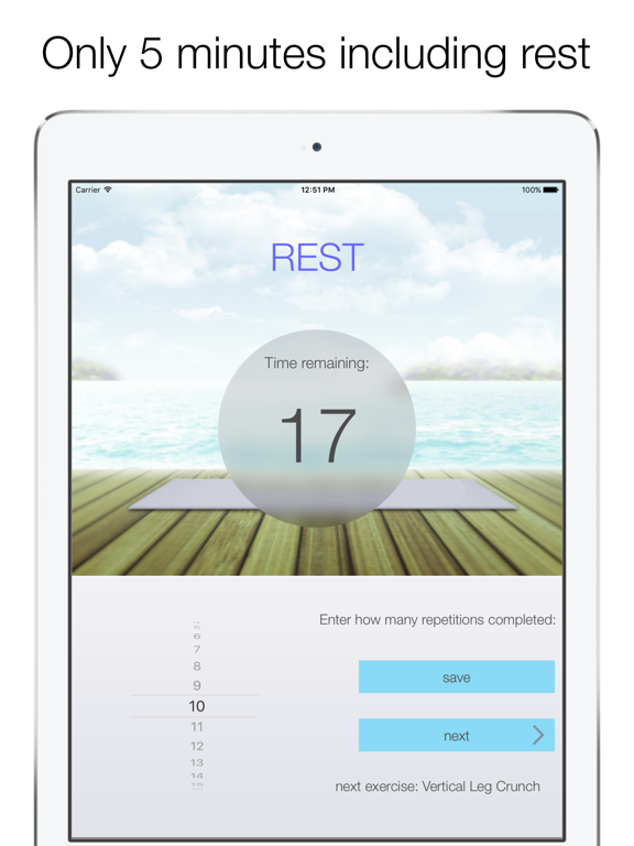 Quick Abs Workout-ipad-2