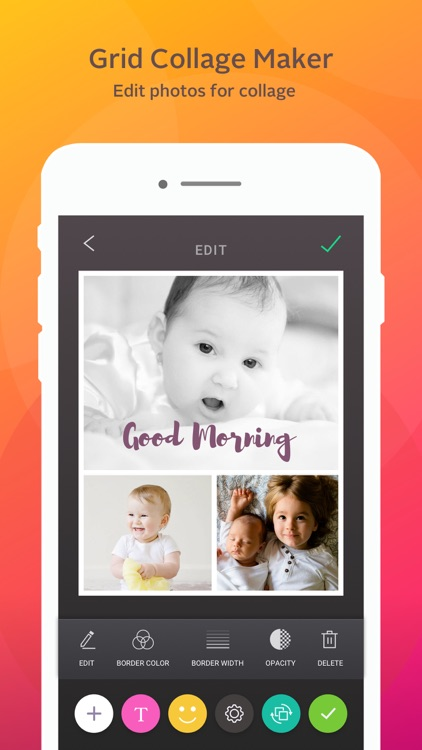 Instant Collage Lite- photo and pic collage maker screenshot-1