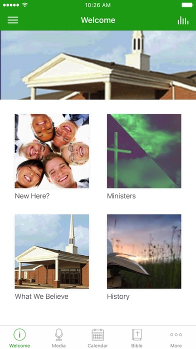 Newcastle Christian Church screenshot 1