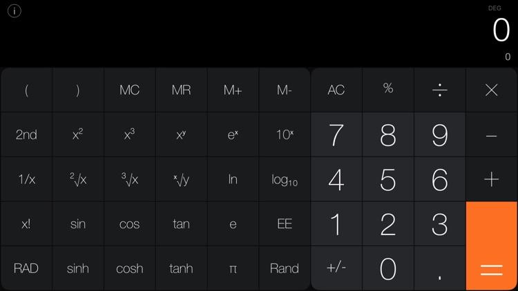 Calculator Pro iRocks screenshot-3
