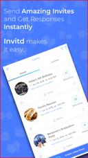 Invitd invitation maker rsvp on the app store iphone screenshots stopboris Images