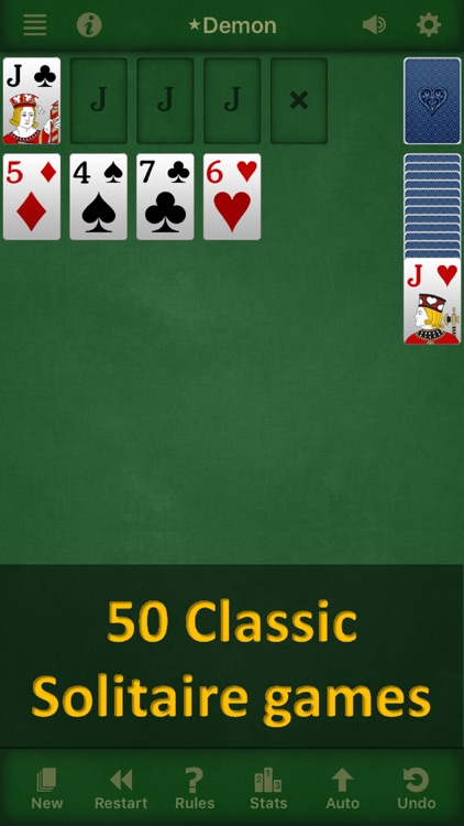 Solebon Solitaire - 50 Games screenshot-3