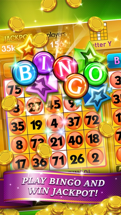 Bingo City 75 + Slots & Poker screenshot-4