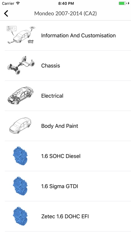 Car parts for Ford screenshot-3