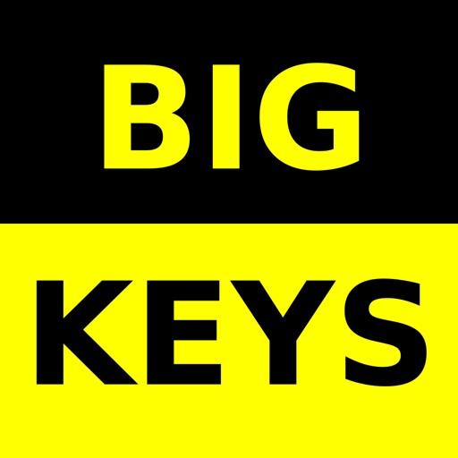Big Keys Low Vision Keyboard