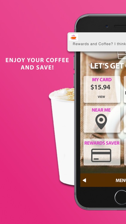 Rewards for Dunkin Donuts