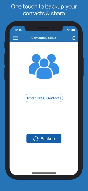 Smart Contacts Backup Manager on the App Store