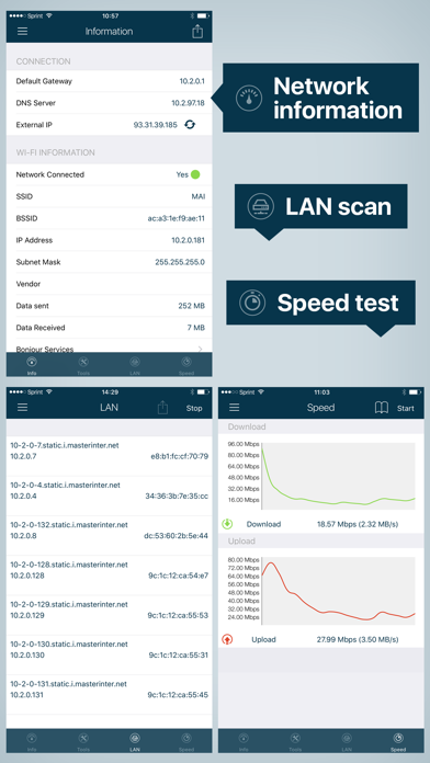 WiFi Analyzer: Network Toolsのおすすめ画像2