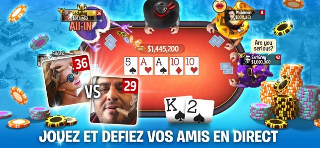Governor of Poker : jeu de Poker en ligne sur Jeux Jeux de cartes & plateau Tlchargement gratuit