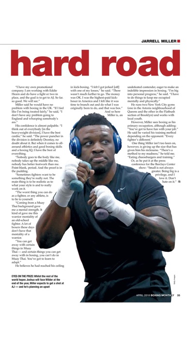 Boxing Monthly Magazi... screenshot1