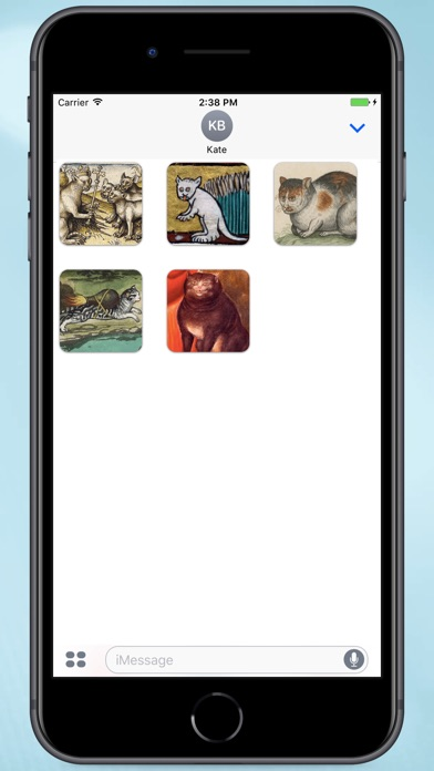 Screenshot for Medieval Cats Stickers in Colombia App Store