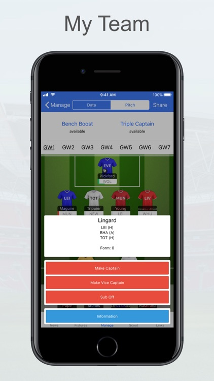 Fantasy Football Manager, Lite screenshot-3