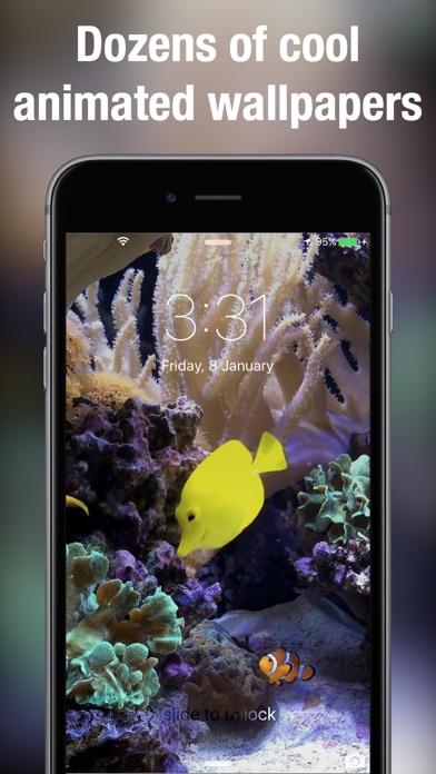 Aquarium live bakgrundsbilder+ på PC