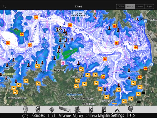 Lake Lucerne GPS Charts Pro screenshot four