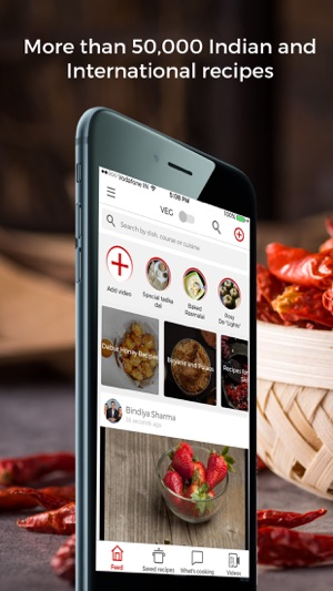Betterbutter indian recipes on the app store iphone screenshots forumfinder Gallery
