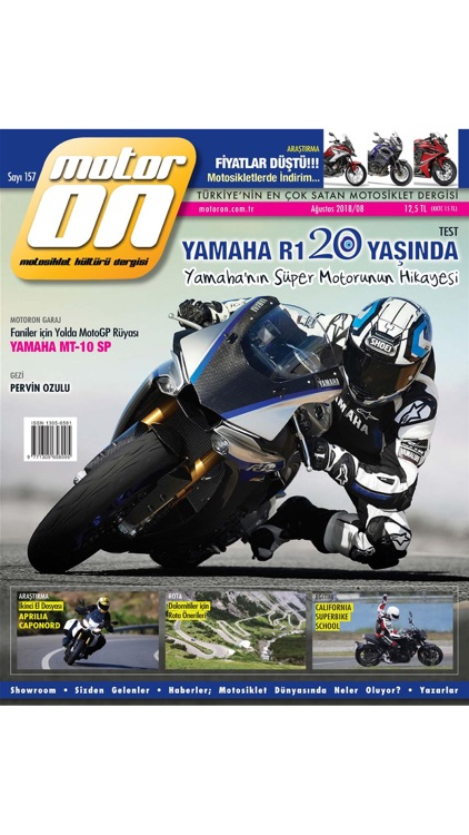 Motoron Motorcycle Magazine screenshot-0