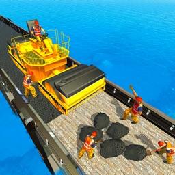 River Road Bridge Builder: Construction Simulator